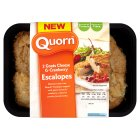 Quorn 2 goats cheese & cranberry escalopes - 240g