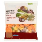 essential Waitrose Winter vegetable mix - 1kg