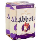 Greene King abbot ale - 4x500ml Brand Price Match - Checked Tesco.com 15/09/2014