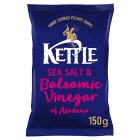 Kettle Chips sea salt & balsamic vinegar - 150g Brand Price Match - Checked Tesco.com 02/12/2013