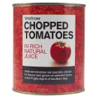 essential Waitrose chopped tomatoes in natural juice - 800g