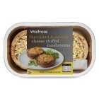 Waitrose ready to roast stuffed mushrooms - 250g