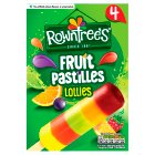 Nestle Rowntrees fruit pastilles lollies - 4x65ml