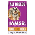 Iams Senior & Mature Dry Dog Food Chicken - 3kg