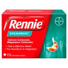 Rennie spearmint - 72s Brand Price Match - Checked Tesco.com 16/07/2014