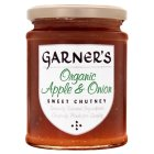 Garner's organic apple & onion sweet chutney