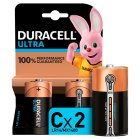 Duracell ultra C - 2s Brand Price Match - Checked Tesco.com 16/07/2014