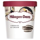 Haagen Dazs cookies & cream ice cream