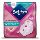 Bodyform ultra super wing - 12s Brand Price Match - Checked Tesco.com 20/08/2014