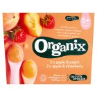 Organix organic fruit pots - stage 1 - 4x100g Brand Price Match - Checked Tesco.com 01/09/2014