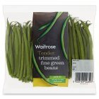 Waitrose trimmed green beans - 200g
