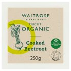 Waitrose Organic cooked beetroot - 250g