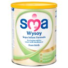 Sma wysoy soya from birth