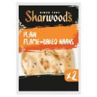 Sharwood's plain naans - 2s