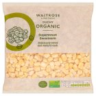 Waitrose organic sweetcorn - 500g
