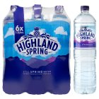 Highland Spring, spring still water, 6 pack - 6x1.5litre Brand Price Match - Checked Tesco.com 30/03/2015