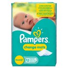 Pampers Care Change Mats 12 Mats Normal - 12s