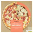 Waitrose hand stretched, thin & crispy margherita pizza - 400g