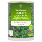 Waitrose Organic canned red kidney beans - drained 240g
