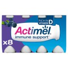 Actimel blueberry - 8x100g Brand Price Match - Checked Tesco.com 30/07/2014
