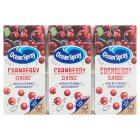 Ocean Spray cranberry lunchbox pack - 3x200ml
