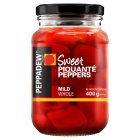 Peppadew mild sweet piquanté peppers - drained 165g