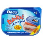 Baco tub-its snack pot - 5s