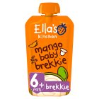 Ella's Kitchen Organic mango baby brekkie - from stage 1 baby food - 100g Brand Price Match - Checked Tesco.com 16/07/2014