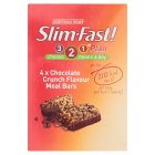 Slim-Fast chocolate crunch bars