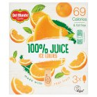 Del Monte 100% Orange Juice - 3x75ml