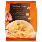 Waitrose cheese & smoked ham ravioli - 500g