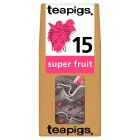 Teapigs super fruit 15 tea bags - 37.5g