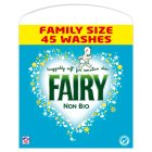 Fairy Non Bio  Powder 3.6KG laundry detergent 45 washes