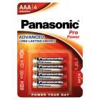 Panasonic pro power AAA 1.5V - 4s