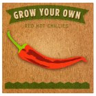 Grow your own red hot chillies - each