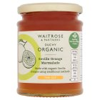 Waitrose Duchy Organic thin cut Seville orange marmalade - 340g