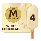 Magnum white - 4x110ml Brand Price Match - Checked Tesco.com 01/07/2015