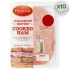 Hygrade cooked ham, 10 slices - 125g