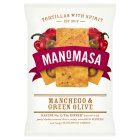 Manomasa tortillas manchego & green olive - 160g Introductory Offer