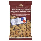 Red Lion sea salt & black pepper cashew nuts - 100g