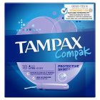 Tampax Compak Lite Applicator Tampon Single 20PK - 20s