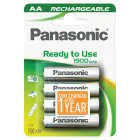 Panasonic ready to use 1900mAh AA - 4s