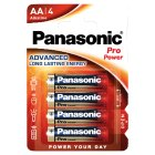 Panasonic pro power AA 1.5V - 4s
