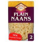 Patak's plain naans - 2s Brand Price Match - Checked Tesco.com 05/03/2014