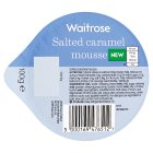 Waitrose Salted Caramel Mousse - 100g