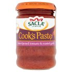 Sacla Cook's Paste Tomato & Garlic - 190g