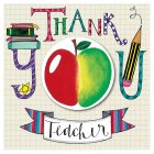 Thank You Teacher Apple & Pens - 1x1each