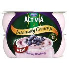 Activia intensely creamy bursting blueberry - 4x110g Brand Price Match - Checked Tesco.com 16/04/2014