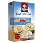 Quaker Oat So Simple variety porridge - 297g Brand Price Match - Checked Tesco.com 30/07/2014