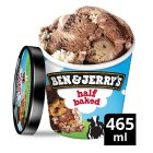 Ben & Jerry's half baked ice cream